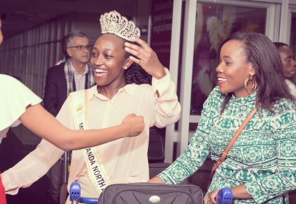 Yvonne Kushe Arrives in Uganda for Cares Tour