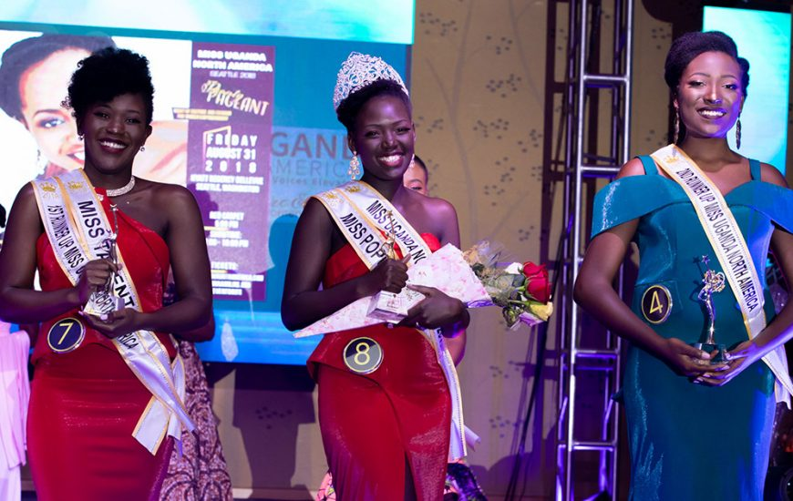 Shalom Aburu Crowned Miss Uganda North America 2018