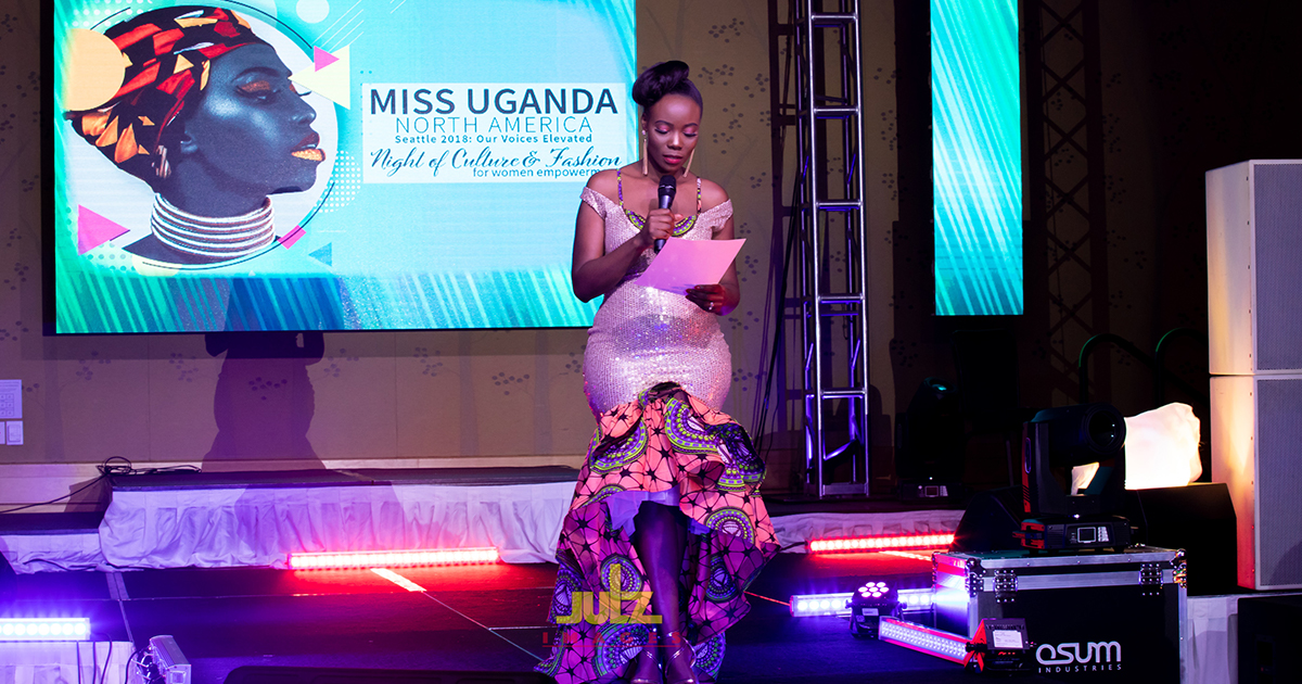 Seattle 2018 A Thank You Note Miss Uganda North America